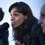 María Pazos, Elena Avilés y Javier Moreno